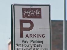 Downtown Fayetteville parking