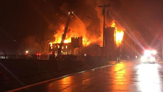 Fire destroys Statesville church