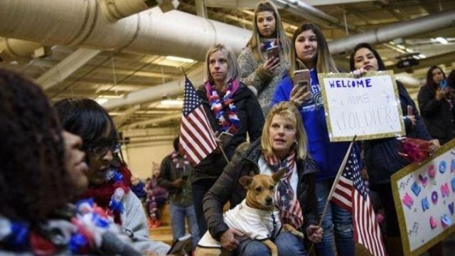 Fort Bragg soldiers return home following 9-month deployment