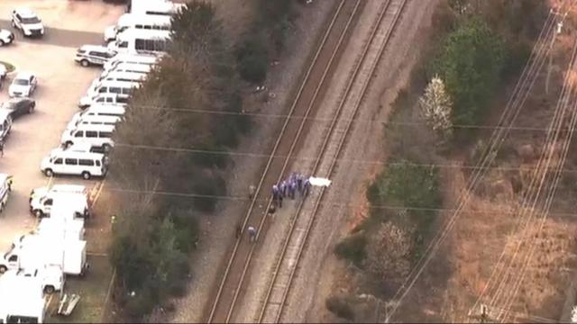 Pedestrian killed after being struck by Amtrak train in Raleigh