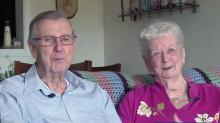 IMAGE: 'Right from the start': Couple married for 70 years are definition of love, commitment