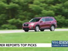 Consumer Reports releases best vehicles of 2019