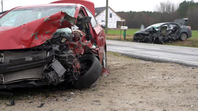 Woman killed in head-on collision near Dudley :: WRAL com