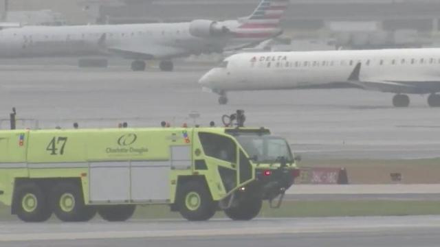 Two American Eagle planes collide at Charlotte Douglas