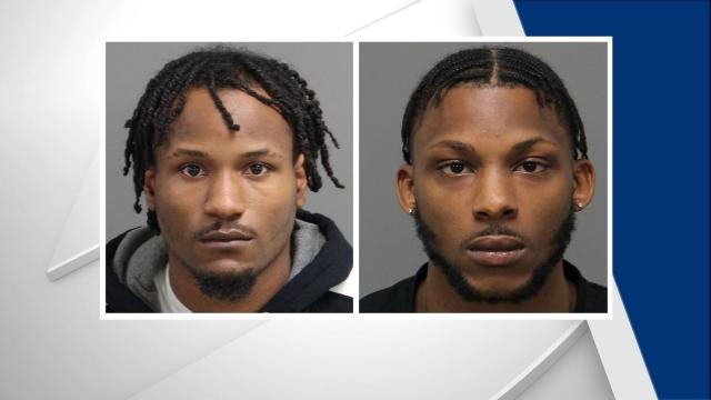Tyreek J. Carpenter, 20, and Donta Dewayne Blue, 23, were each charged with misdemeanor child abuse, according to warrants obtained by WRAL.