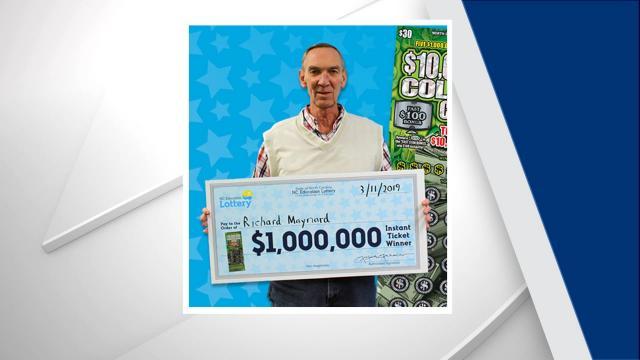 Richard Maynard won $1 million.
