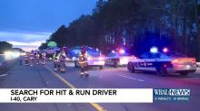 IMAGE: Police searching for hit-and-run driver after 5-car crash on I-40