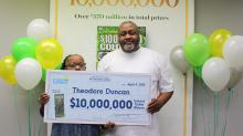 IMAGE: Mechanic from Granville County wins $10 million on the way to the landfill
