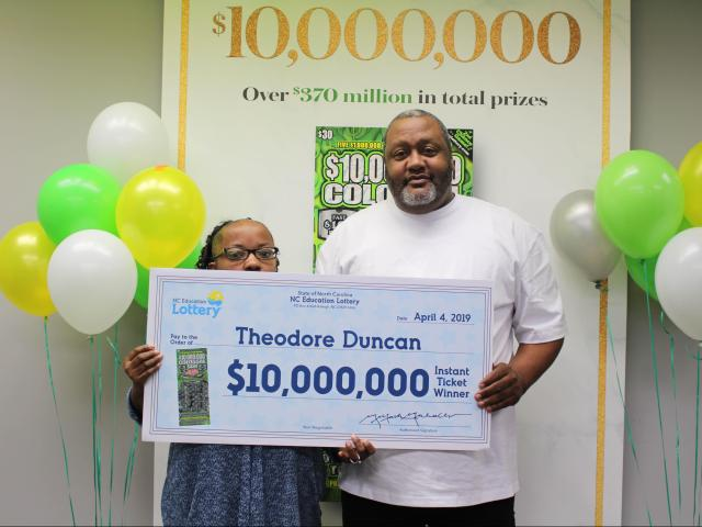Mechanic from Granville County wins $10 million on the way to the landfill