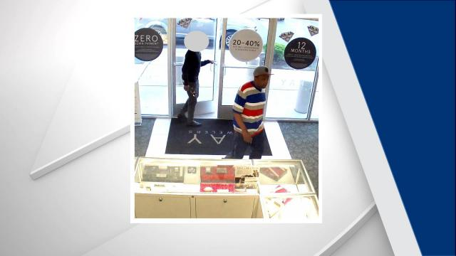 2b938d204 Authorities are searching for a man they say robbed a Kay Jewelers in  Lumberton over the