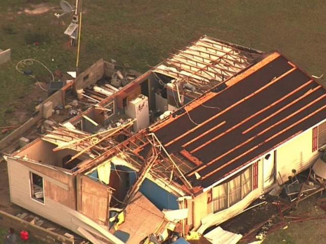 Woman rescued from home damaged by storms in Halifax County