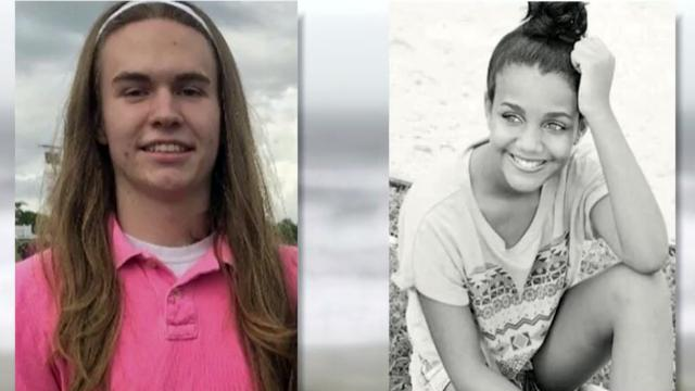 Ian Lewis, Mary Merical, Wake Forest High students caught in Emerald Isle rip currents