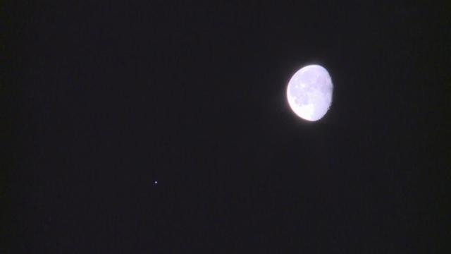 4aeb8a13613cf See the moon and Jupiter close in Tuesday morning s sky    WRAL.com