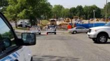 IMAGES: Natural gas leak in Durham capped, city officials say