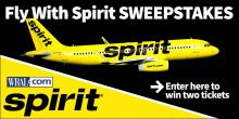 Fly with Spirit sweepstakes