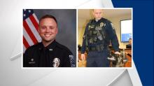 IMAGE: K-9 officer fatally shot during Mooresville traffic stop, suspect found dead