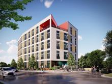 Renderings for City Port Durham