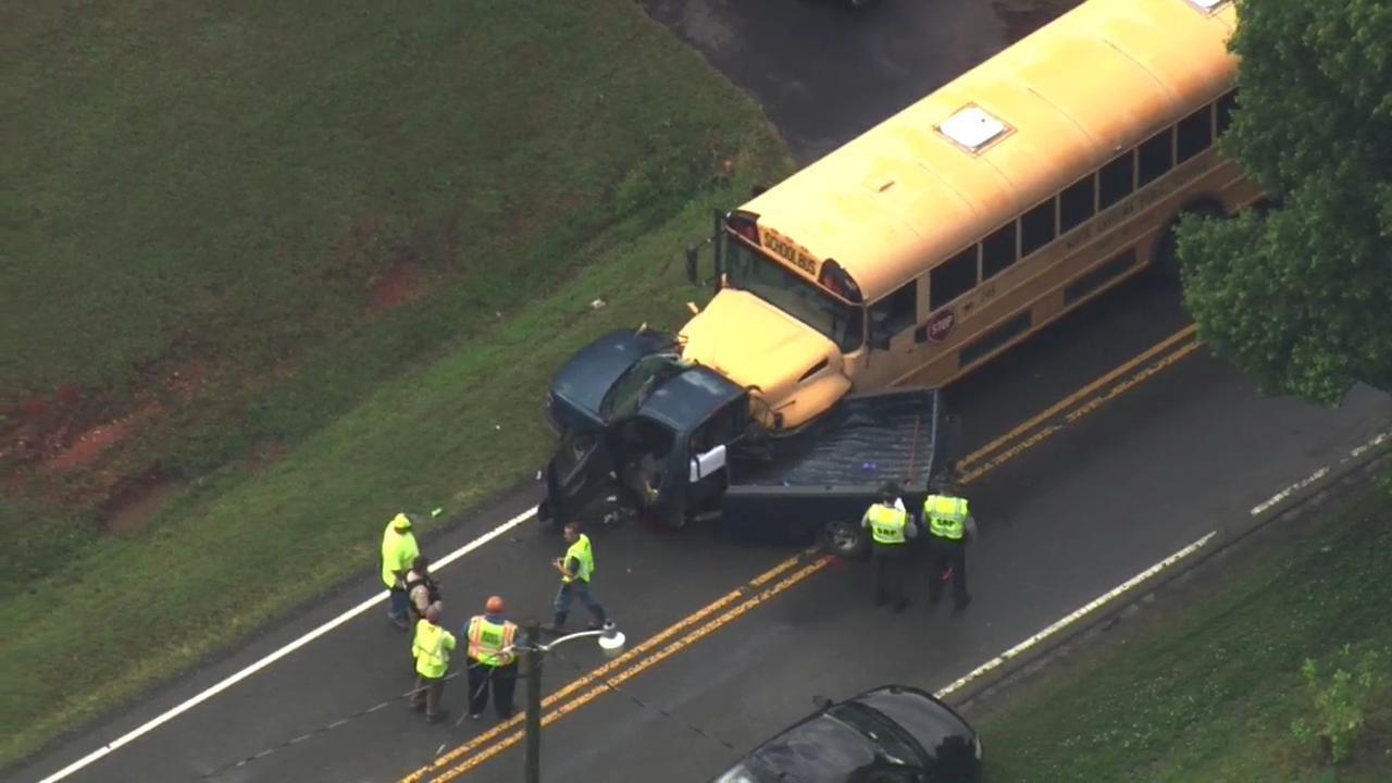 School bus involved in fatal Granville County crash :: WRAL com