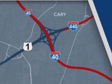 NC DOT calls for suggestions for I-40, I-440, US-1 interchange redesign