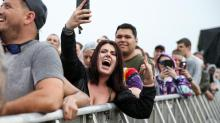 IMAGES: After traffic, security concerns, severe weather, Day 3 at Epicenter sees sun, fewer fans