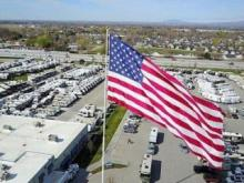 City of Statesville files lawsuit over towering American flag