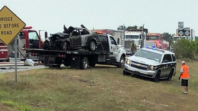 Cary father, daughter killed in Columbus County crash