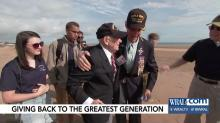 IMAGE: Chapel Hill students who sponsored World War 2 veterans return from Normandy with new perspective