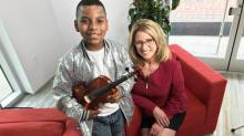 IMAGE: Preview: Act of kindness helps Raleigh boy ace America's Got Talent audition