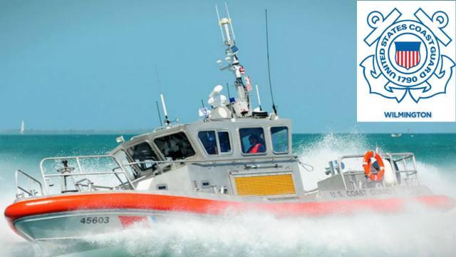U.S. Coast Guard Wilmington, NC (U.S. Coast Guard Wilmington, N.C. Facebook photos)
