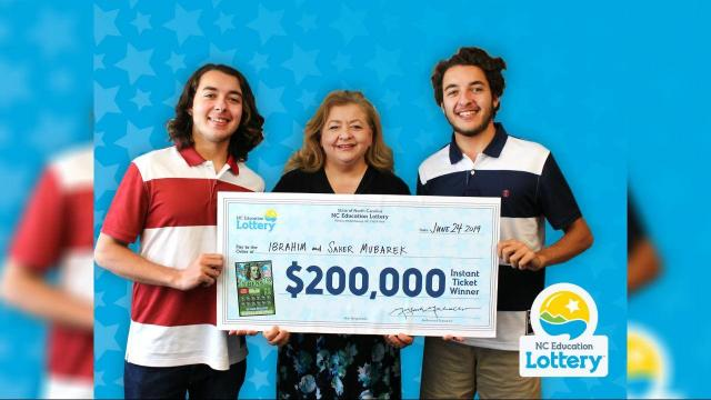 Durham twin brothers win $200,000 in scratch-off lottery game
