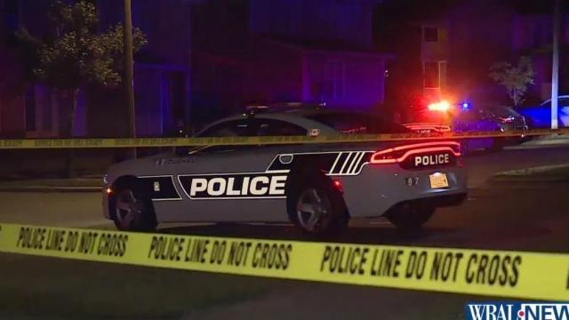 Durham police were called to a townhome complex after bullets sprayed one of the units.