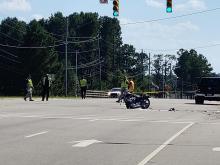 Fayetteville crash motorcyclist killed