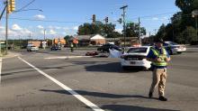 IMAGE: Man killed during motorcycle, pickup collision in Durham