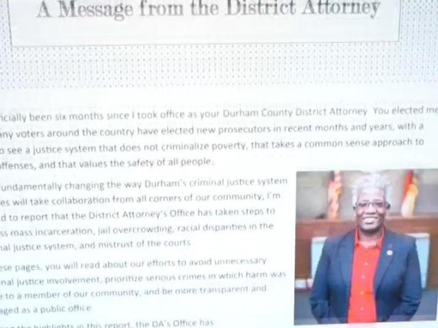 Durham County District Attorney's report :: WRAL com