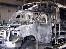 Driver helps passengers escape burning Fayetteville bus