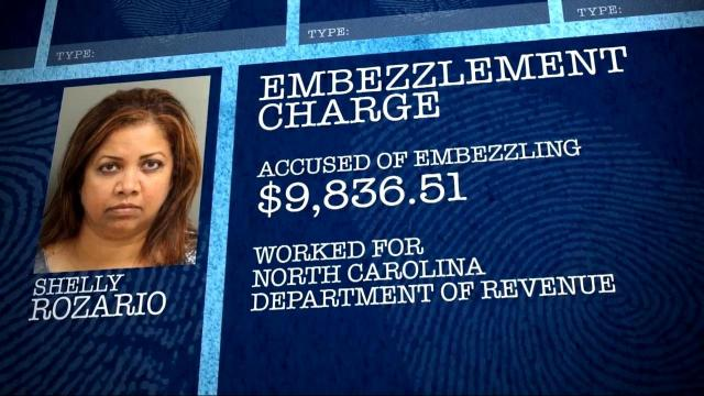 Shelly Rozario (NC Department of Revenue photo/WRAL graphic)