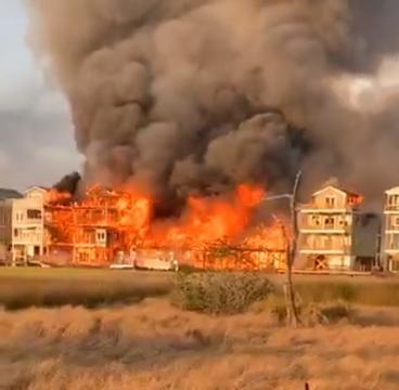 Surf City fire