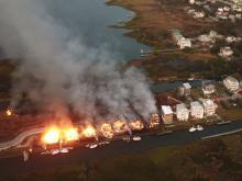 Surf City blaze