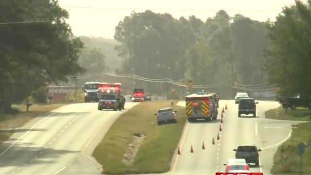 A person died Sunday morning, hit by a vehicle on U.S. Highway 70 in Goldsboro.