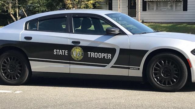 State trooper patrol car