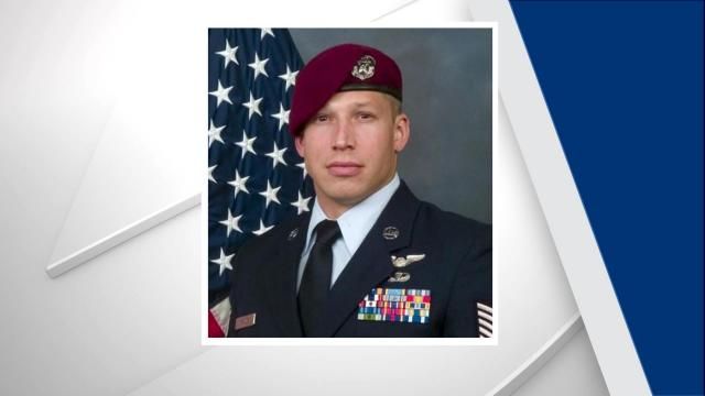 Tech. Sgt. Peter Kraines, 33, was performing mountain rescue techniques in Boise, Idaho, when he was injured, officials said Thursday.