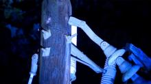 IMAGE: 2 teens hurt after their car hits power pole, knocking out power to some Wake residents