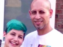 Monica Moynan and Brian Sluss