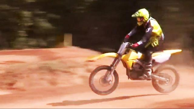 'Never too late': 70-year-old Apex man is motocross champion