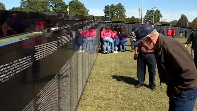 Wall That Heals in Tarboro