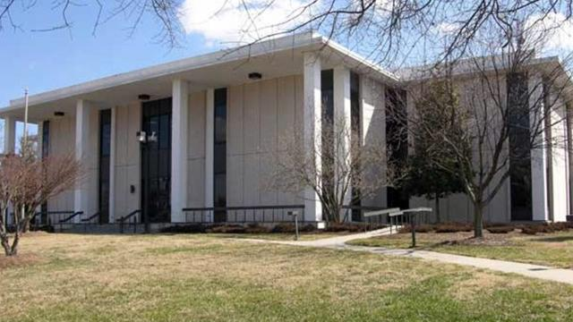 Old Durham County library
