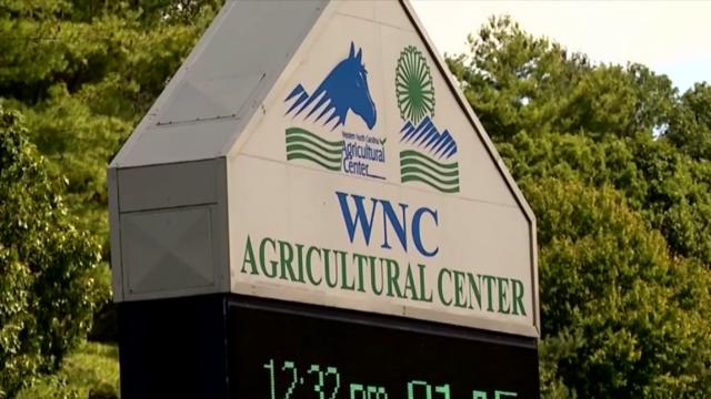 Western North Carolina Agricultural Center sign, Mountain State Fair