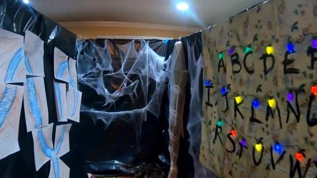 Teen makes haunted house to raise money to fight cancer