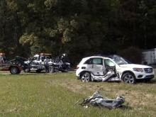Crash kills two in Wake Forest