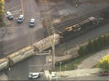 Train accident reported in downtown Raleigh